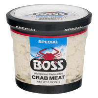 Boss Special Crab Meat Pasteurized Fresh