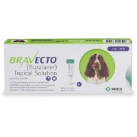 Bravecto Topical Solution for Dogs - Green, For Dogs 22 to 44 lbs.