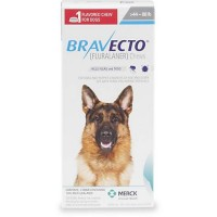 Bravecto Chewable Tablet for Dogs - Blue, For Dogs 44 to 88 lbs.