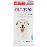 Bravecto Chewable Tablet for Dogs - Pink, For Dogs 88 to 123 lbs.