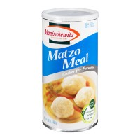 Manischewitz Matzo Meal No Sodium Kosher for Passover