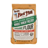 Bob's Red Mill Pastry Flour Stone Ground Whole Wheat Organic