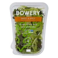 Bowery Lettuce Sweet & Spicy Mix - Non-GMO