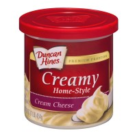 Duncan Hines Creamy Home-Style Frosting Cream Cheese