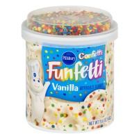 Pillsbury Funfetti Frosting Confetti Vanilla