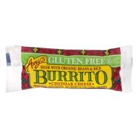 Amy's Burrito Cheddar Cheese Gluten Free Organic