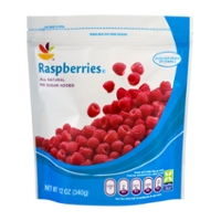 Stop & Shop Raspberries Unsweetened All Natural Frozen