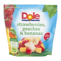 Dole Fruit Strawberries, Peaches & Bananas Frozen