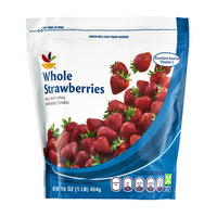 Stop & Shop Strawberries Whole Unsweetened All Natural Frozen