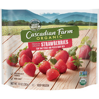 Cascadian Farm Strawberries Organic Non-GMO Frozen