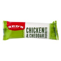 Red's Natural Foods Burrito Chicken & Cheese Frozen