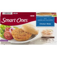 Smart Ones Tasty American Favorites Chicken Slider - 2 ct