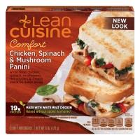 Lean Cuisine Comfort Chicken Spinach & Mushroom Panini