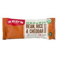 Red's Burrito Bean, Rice & Cheddar Organic Frozen