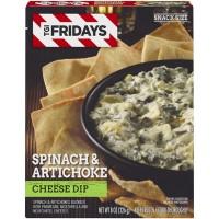 TGI Friday's Cheese Dip Spinach & Artichoke Frozen