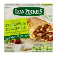 Lean Pockets Meatballs & Mozzarella with Seasoned Crust - 2 ct