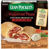 Lean Pockets Pepperoni Pizza with Seasoned Crust - 2 ct