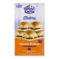 White Castle Cheeseburgers Sliders - 16 ct