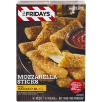 TGI Fridays Mozzarella Sticks With Marinara Sauce Value Size