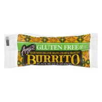 Amy's Burrito Black Beans & Quinoa Gluten Free Dairy Free Organic