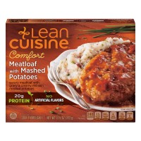 Lean Cuisine Comfort Meatloaf with Mashed Potatoes