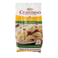 Celentano Ravioli Cheese Mini Rounds Frozen NUTRITION