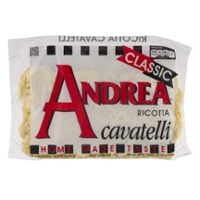 Andrea Cavatelli with Ricotta Cheese Frozen
