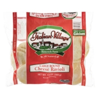 Italian Village Ravioli Cheese Large Round Frozen