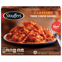 Stouffer's Classics Three Cheese Ravioli 10 oz. Box