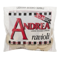 Andrea Ravioli Cheese Large Frozen
