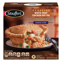 Stouffer's Chicken Pot Pie White Meat Large Size