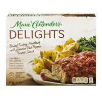 Marie Callender's Delights Turkey Meatloaf w/Red Pepper Tomato Sauce