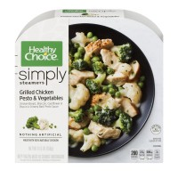 Healthy Choice Simply Steamers Grilled Chicken Pesto & Vegetables