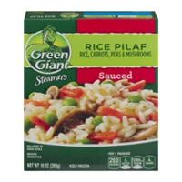 Green Giant Steamers Sauced Rice Pilaf with Carrots, Peas & Mushrooms