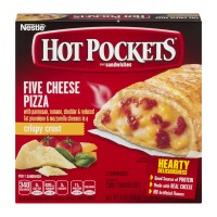 Hot Pockets Five Cheese Pizza with Crispy Crust - 2 ct