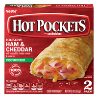 Hot Pockets Hickory Ham & Cheddar with Croissant Crust - 2 ct