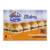 White Castle Cheeseburgers Sliders - 6 ct