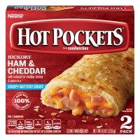 Hot Pockets Ham & Cheddar with Crispy Buttery Crust - 2 ct