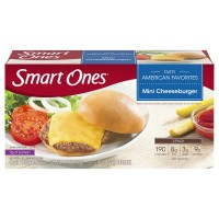 Smart Ones Tasty American Favorites Mini Cheeseburger - 2 ct