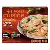 Lean Cuisine Comfort Shrimp Alfredo with Broccoli & Linguine