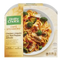 Healthy Choice Cafe Steamers Chicken Linguini with Red Pepper Alfredo