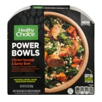 Healthy Choice Power Bowls Chicken Sausage & Barley Bowl NUTRITION