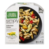 Healthy Choice Cafe Steamers Grilled Basil Chicken