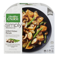 Healthy Choice Cafe Steamers Grilled Chicken Marsala with Mushrooms