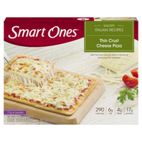 Smart Ones Savory Italian Recipes Thin Crust Cheese Pizza