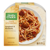 Healthy Choice Cafe Steamers Spaghetti & Meatballs