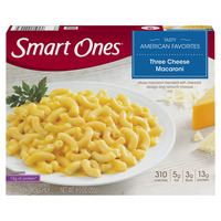 Smart Ones Tasty American Favorites Three Cheese Macaroni