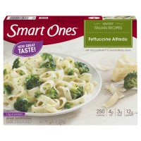 Smart Ones Savory Italian Recipes Fettuccine Alfredo