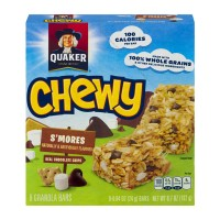Quaker Chewy Granola Bars S'mores Low Fat - 8 ct