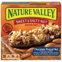 Nature Valley Sweet & Salty Nut Granola Bars Chocolate Pretzel Nut - 6 ct